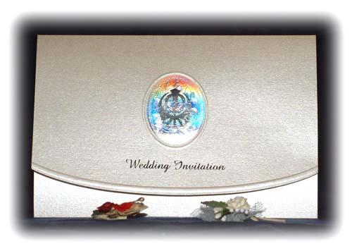Sikh Wedding Card 2050SK