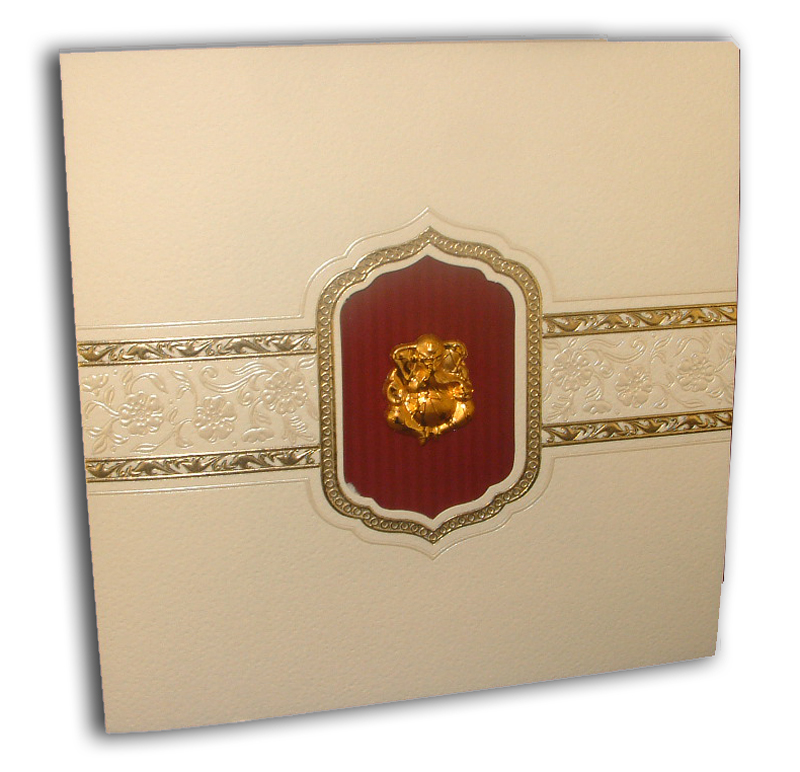 Hindu Wedding Card  J284H