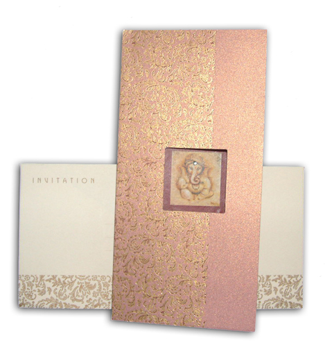 Hindu Wedding Card JP 433 G