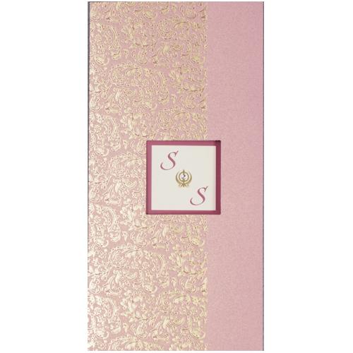 Sikh Wedding Card JP 433n