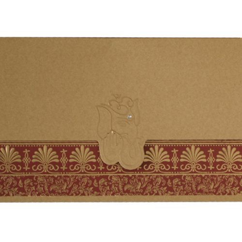 Hindu Wedding Card JP 439