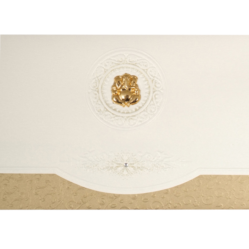 Hindu Wedding Card JP 448g