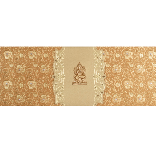 Hindu Wedding Card JP 457g
