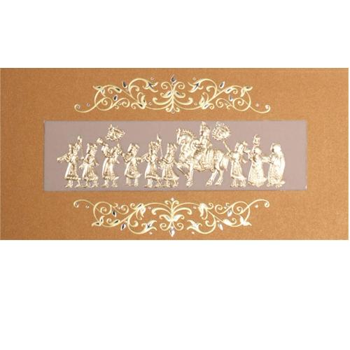 Sikh Wedding Card JP 460b